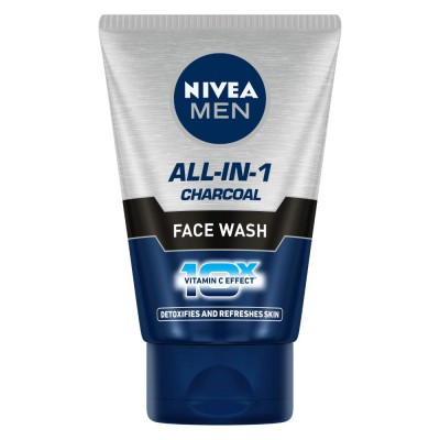 bfea36bddc37a Nivea Men All-in-1 10x Whitening Effect Face Wash 100gm