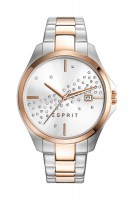 1ad9c461dc1 ESPRIT Mens Quartz Watch Chronograph Display and Stainless Steel ...