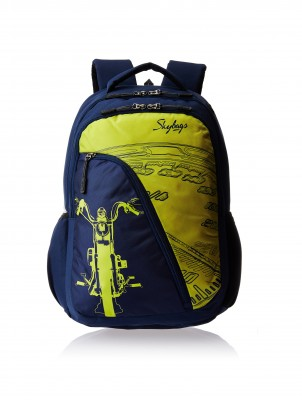 a9e311d427906 Skybags Flash 01 2.5 L Backpack (Blue- Size - 210)