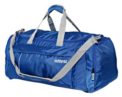 7031946d220 American Tourister Blue Duffle Bag