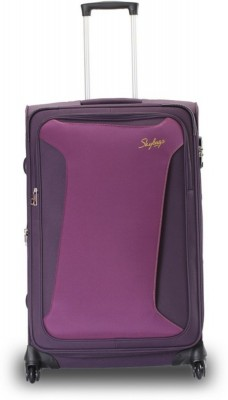 f72bf1a4cb37 Skybags Skylite plus 4w exp strolly 65 ppl Check-in Luggage - 31 (Purple)