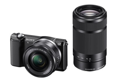 Sony Alpha A5000Y 20.1MP Digital SLR Camera (Black) with 16-50 04ea24900b70e